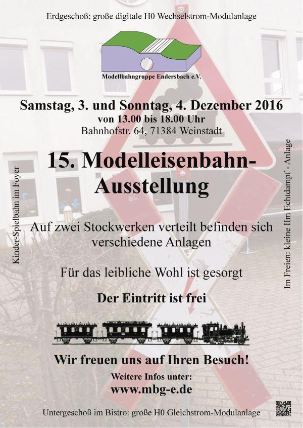 Flyer Jahresausstellung 2016