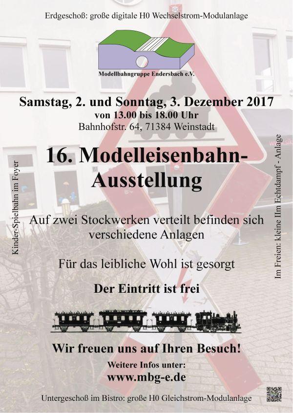 Flyer Ausstellung 2017