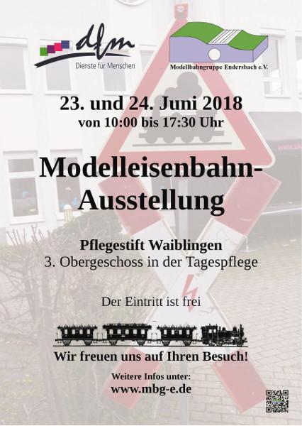 Flyer Ausstellung DFM 2018