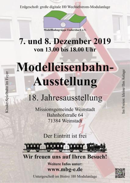Flyer Jahresausstellung 2019